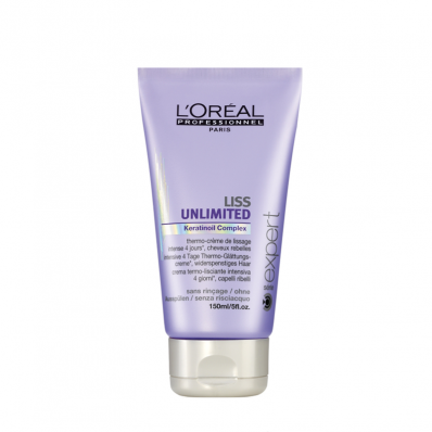 LOREAL LISS UNLIMITED BLOW DRY CREAM 200ML