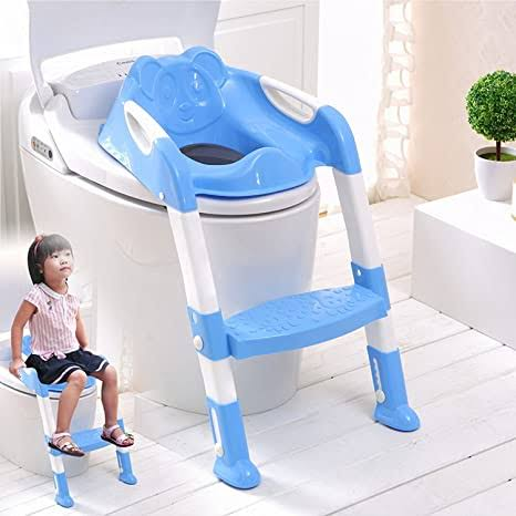 Children's Toilet Ladder Toddler - Blue