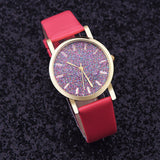Ladies Analog Colour Face WristWatch - 4 Colours
