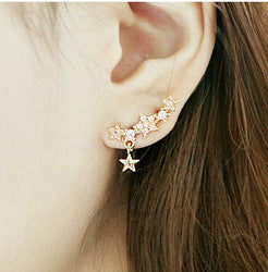 Star and Flower Stud Earring