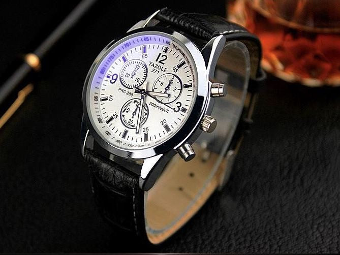 Men's Business Watches - Black
