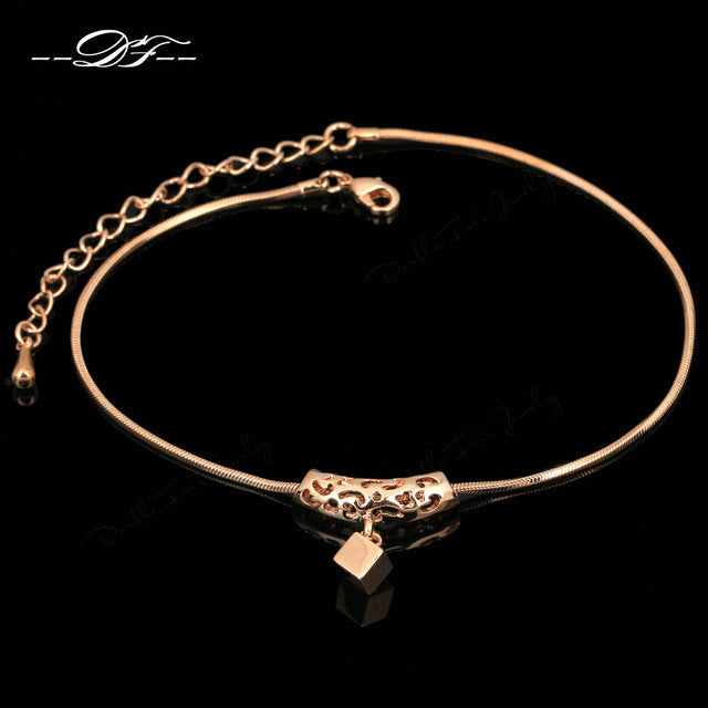 Rose Gold Plated Anklet