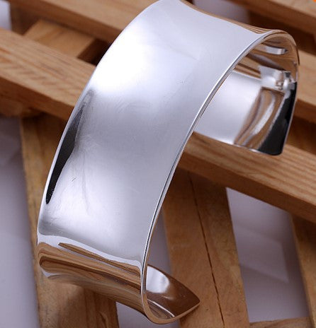 Wide Open Cuff Bangle