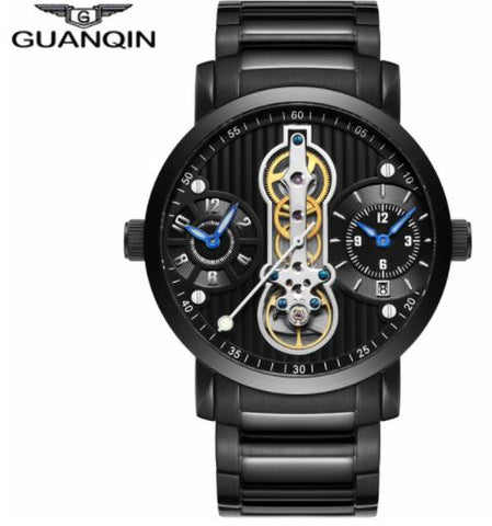 Tourbillon Automatic Skeleton Mechanical Watch