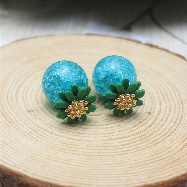Daisy Flower Party Earring