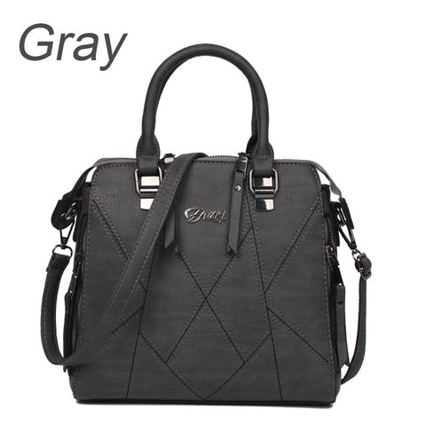 Ladies Cross Body Handbag - Grey