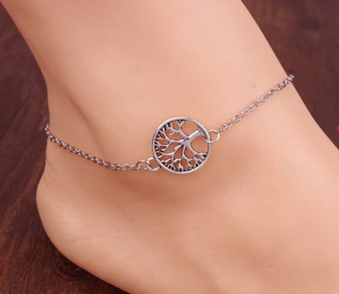 Earth Trees Anklet