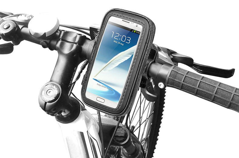 Water Resistant Bike Mount And Case For upto 5.5 inch Phone or GPS
