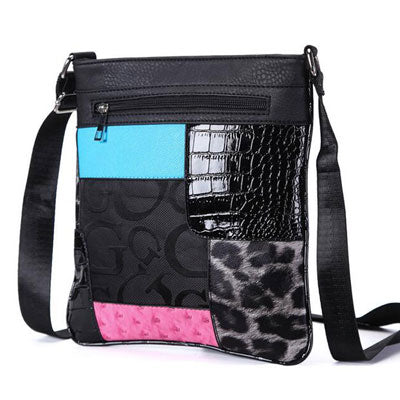 Ladies Patchwork Sling Bag