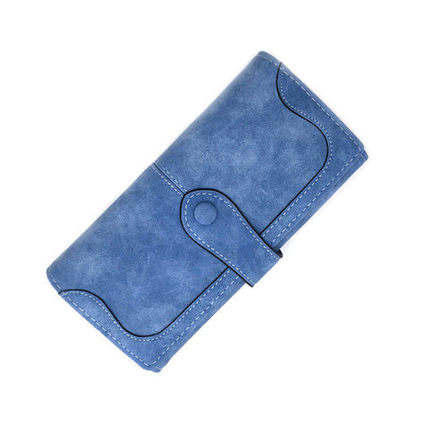 Ladies MultiFunctional Casual Wallets - Blue