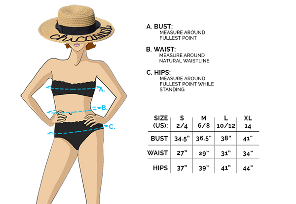 CHICASUAL SIZE CHART - find your perfect fit!