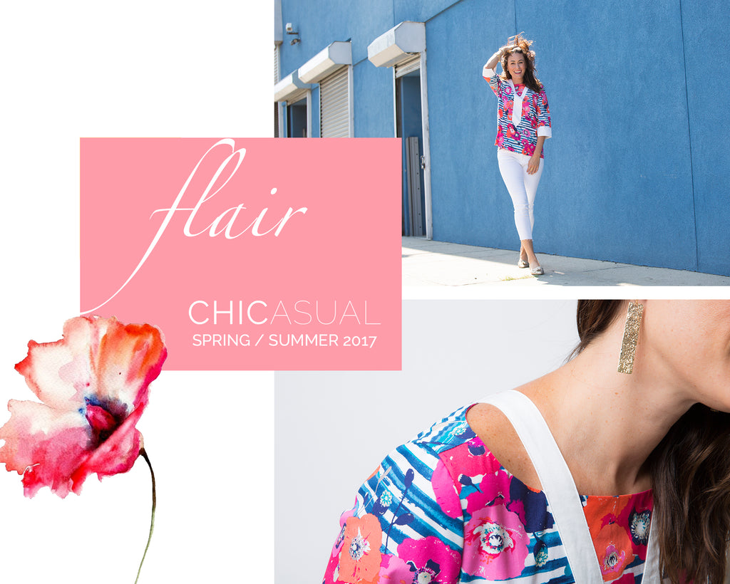 FLAIR | CHICASUAL | LOOKBOOK SS17