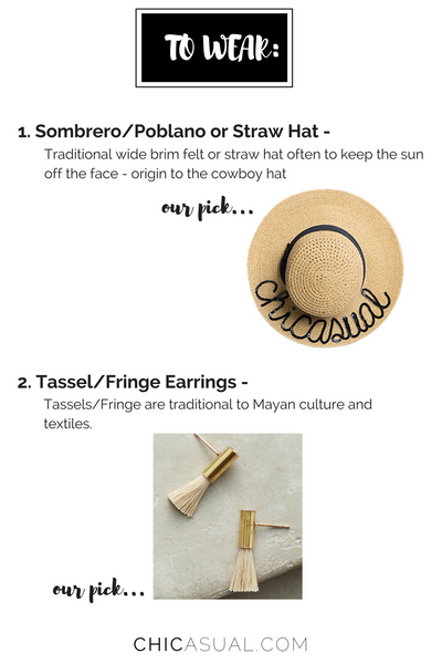 fashion for cinco de mayo - limited edition straw hat