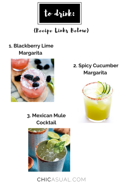 drink recipes for cinco de mayo