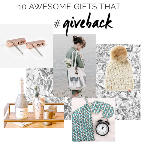 Gifts that give back, charity gifts,  gifts that give, charitable giving, donate to charity, charity presents, charity donation gifts, gifts to charity, donate, unique gifts, hostess gifts, gifts for him, gifts for her, holiday gift donations, give the gift of giving, charitable giving, fashion, shopping, chicasaul, chic, online shopping, lifestyle, fashion blog
