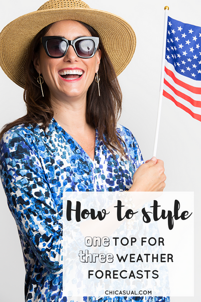 How to style one top for three different forecasts