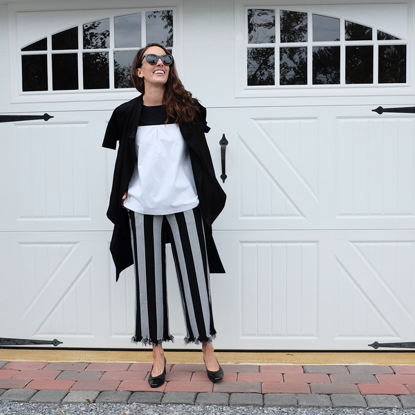 How to mix black & white prints
