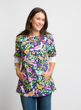 FREE AS A BIRD COTTON TUNIC TOP