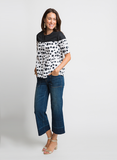 BOLD + BREEZY COTTON DOT TOP