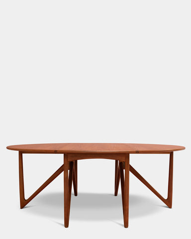 Gate leg table by Niels Koefoed