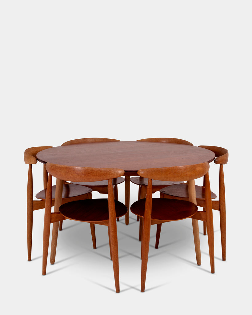 Heart set by Hans J. Wegner