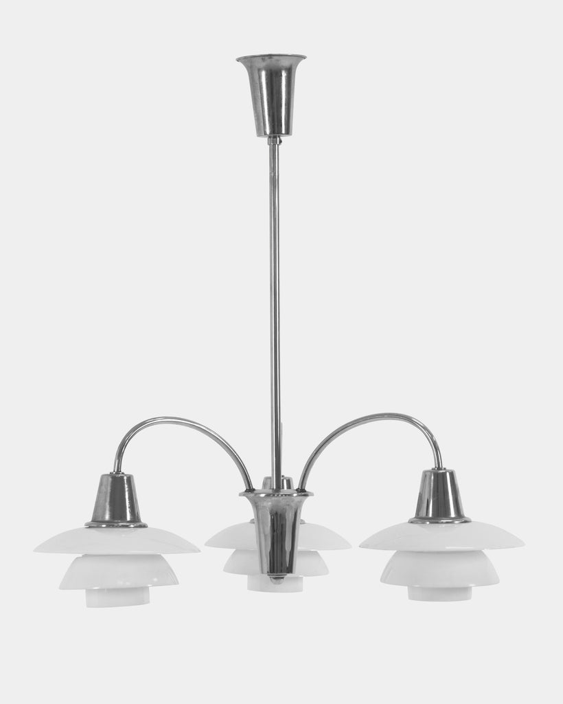 PH Three-armed Cascade Chandelier