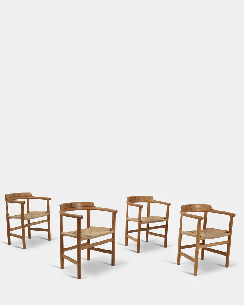 Set of four Arm Chairs by Hans J. Wegner