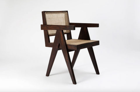 King Chair by Pierre Jeanneret - Srelle
