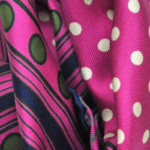 English Silk Dynamic Dots Pocket Square