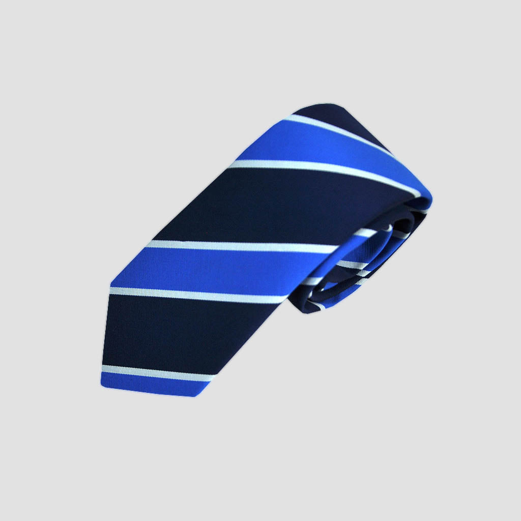 City Spring Stripe Silk Tie