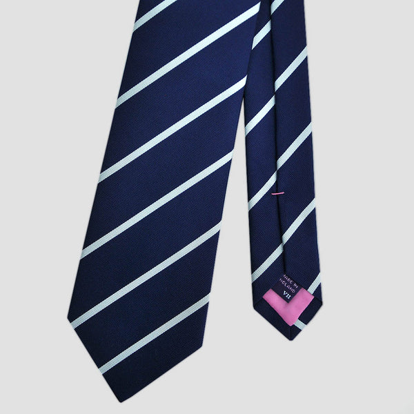 English Silk Cool Stripes Tie
