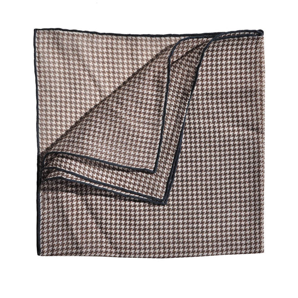 Hounds Tooth Pocket Square