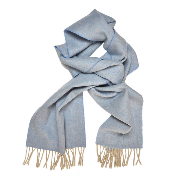 Light Blue Pastel Mens and Women's Winter Scarf