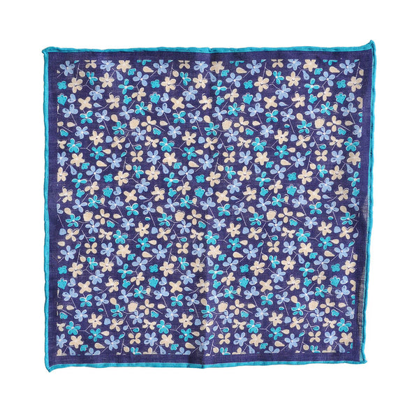 Summer Flowers Pocket Square
