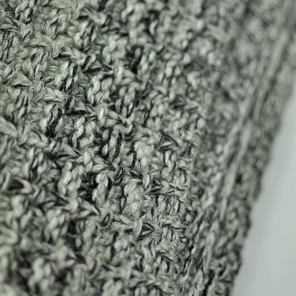 Cashmere Throw in Speckled Grey