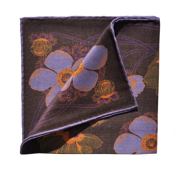 Big Flowers Pocket Square