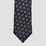 English Woven Silk Dotty Spot Tie