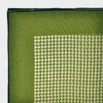 Houndstooth Bandana in Olive