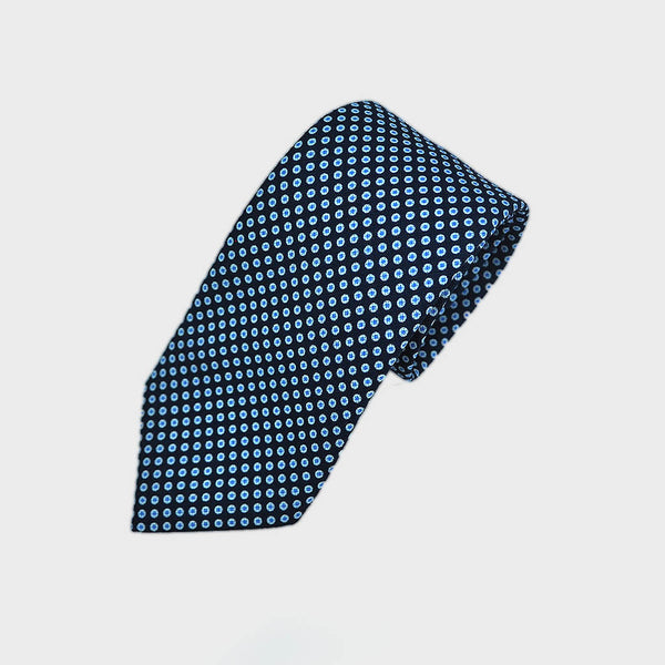 Neat Dotty Repeat Silk Tie