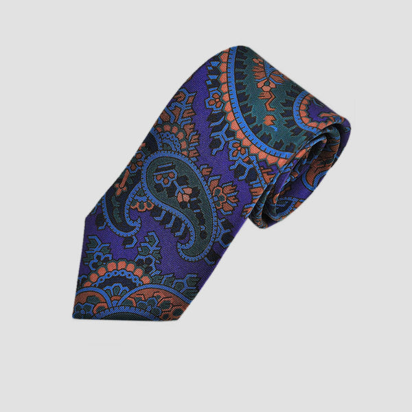 English Madder Classic Paisley Silk Tie