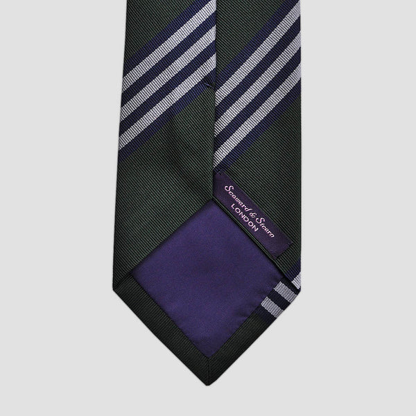 English Silk Stripe Tie