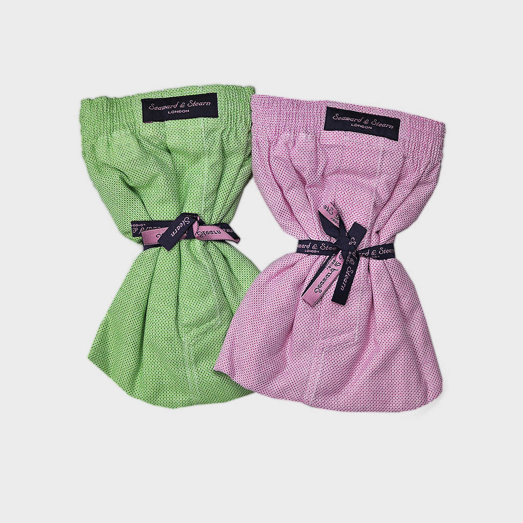 XXL Double Cotton Boxer Short Bundle Lime & Pink