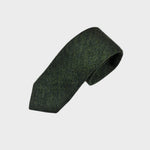 Bottle Green Wool Tie