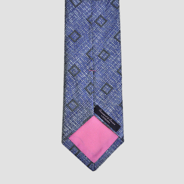 English Silk Dapper Diamonds Tussah Tie