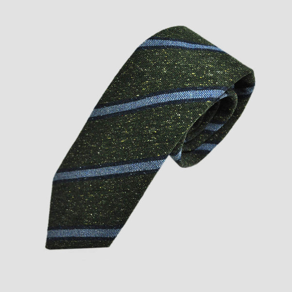 Mellow Stripes Wool Tie