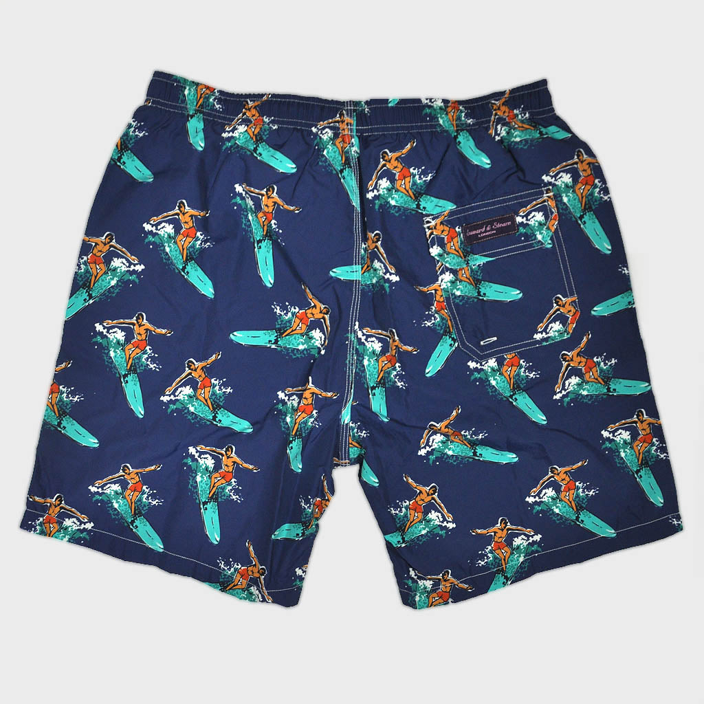 Surfer Swim Short in Blue