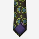 Cool Geo's Silk Tie in Brown