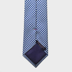 Little Repeat Florets Silk Tie in Royal Blue