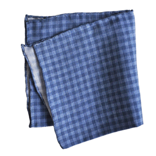 English Silk Plaid Pocket Square