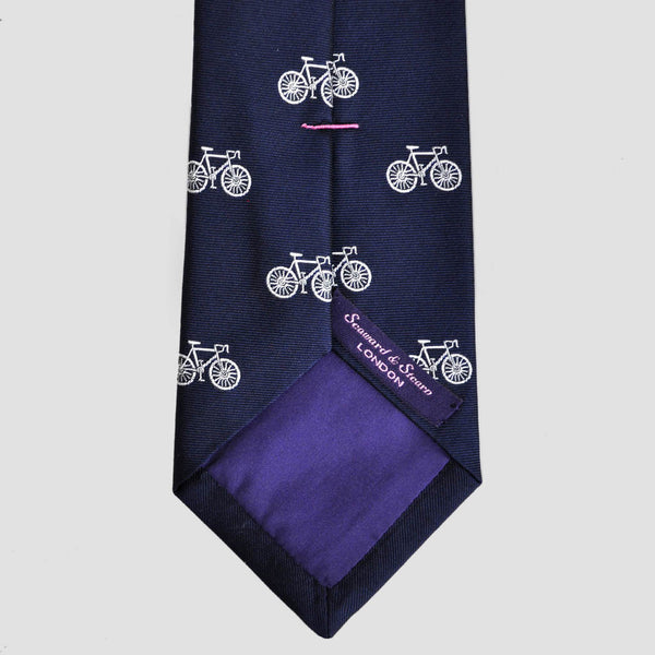 English Woven Silk Grand Tour Tie